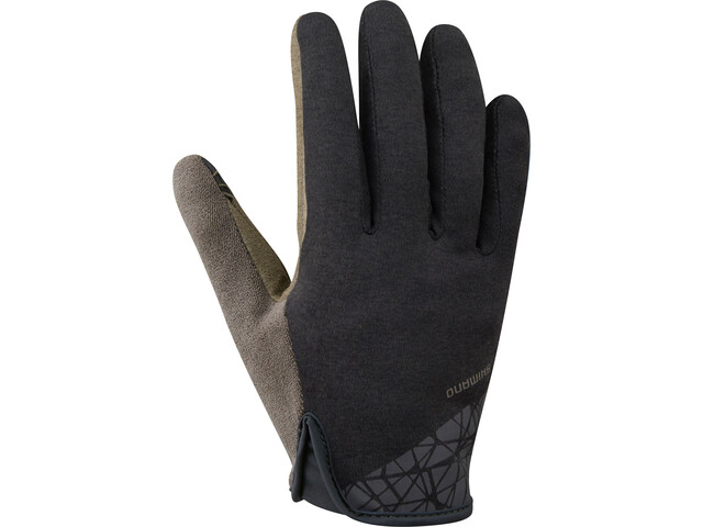 Shimano Transit Long Gloves Herren black